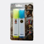blister-evidenziatori-carabinieri-giallo-blu